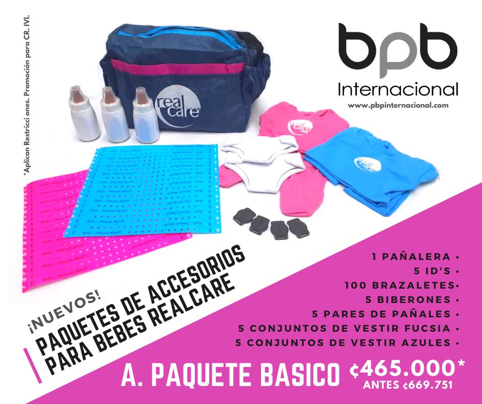A. Paquete Básico de Accesorios · Costa Rica