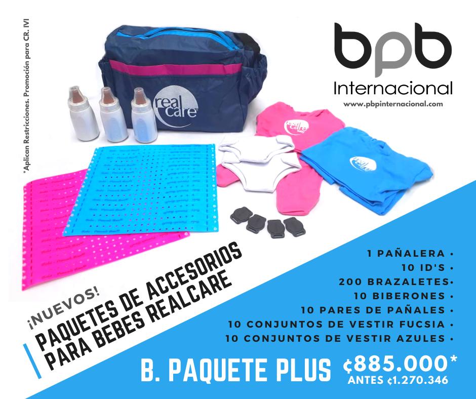 B. Paquete Plus de Accesorios · Costa Rica