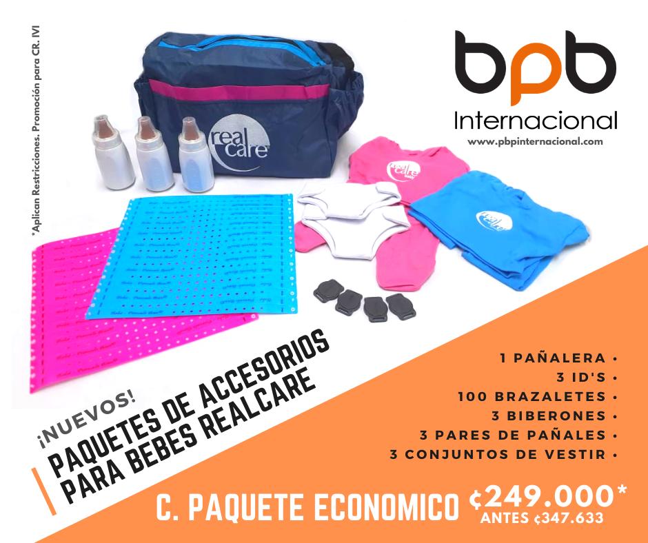 C. Paquete Económico de Accesorios · Costa Rica