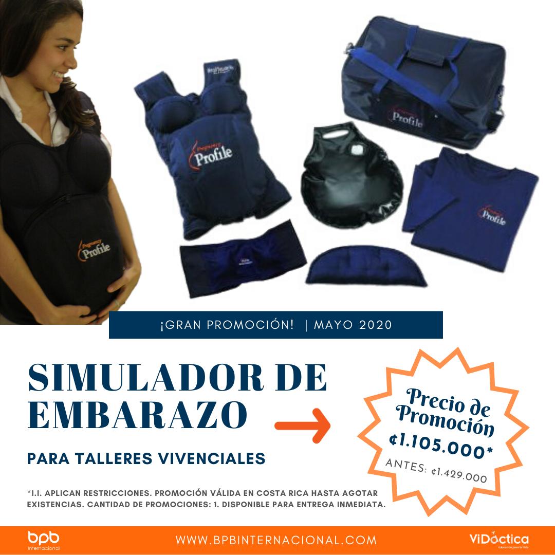 Promoción Simulador de Embarazo · Costa Rica