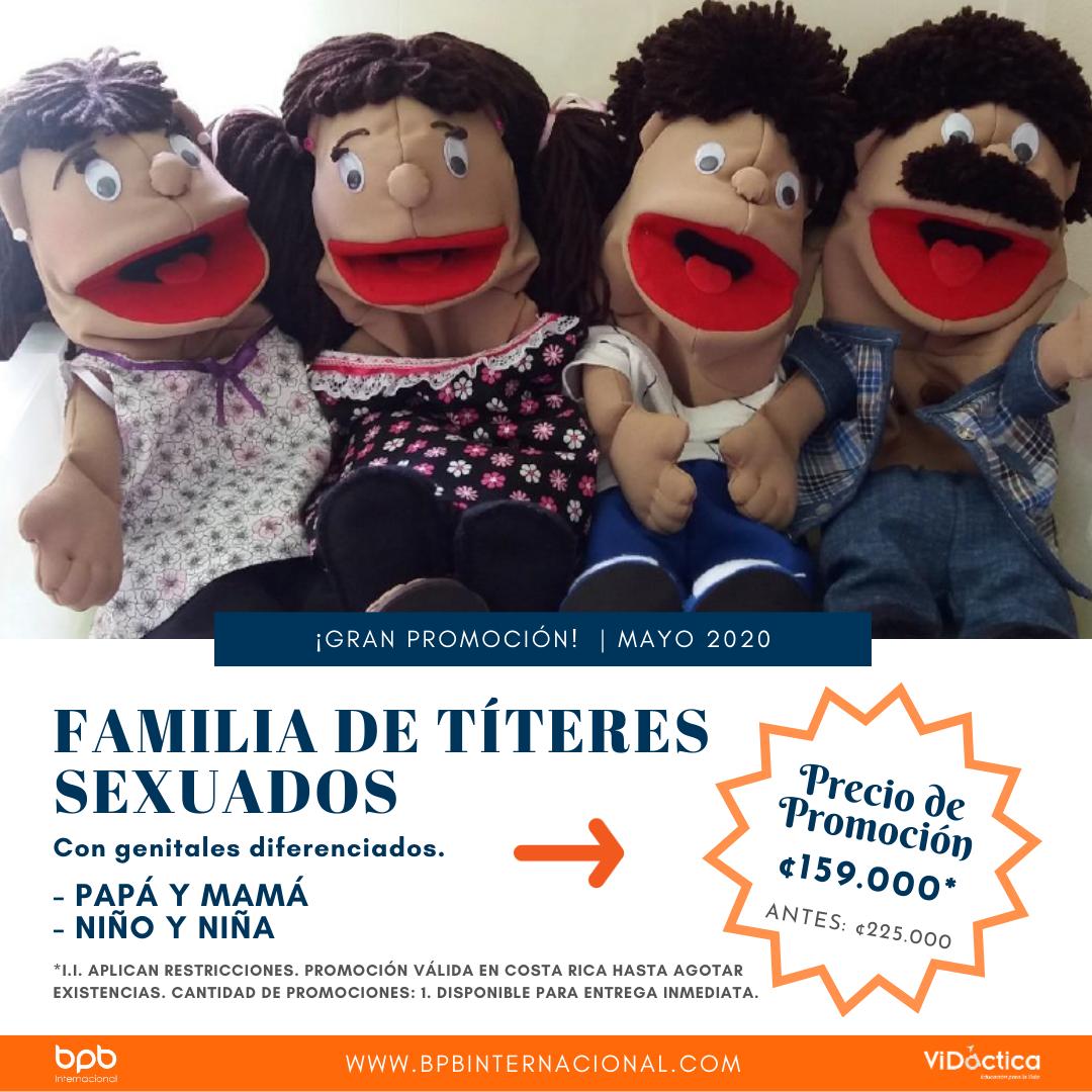 Promoción Títeres Sexuados · Costa Rica