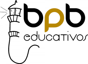 Logo BPB Educativos, fondo blanco